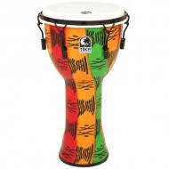 Toca FreeStyle II 14-Inch Mechanically Tuned Djembe with Bag, Spirit